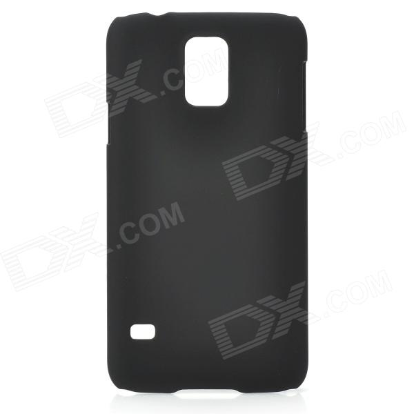 Protective PC Back Case for Samsung Galaxy S5 - Black replacement back camera circle lens for samsung galaxy s5 g900 black