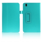 ENKAY Protective PU Leather Case w/ Stand for Samsung Galaxy Tab Pro 8.4 T320 / T321 - Light Green