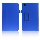 ENKAY Protective PU Leather Case w/ Stand for Samsung Galaxy Tab Pro 8.4 T320 / T321 - Dark Blue