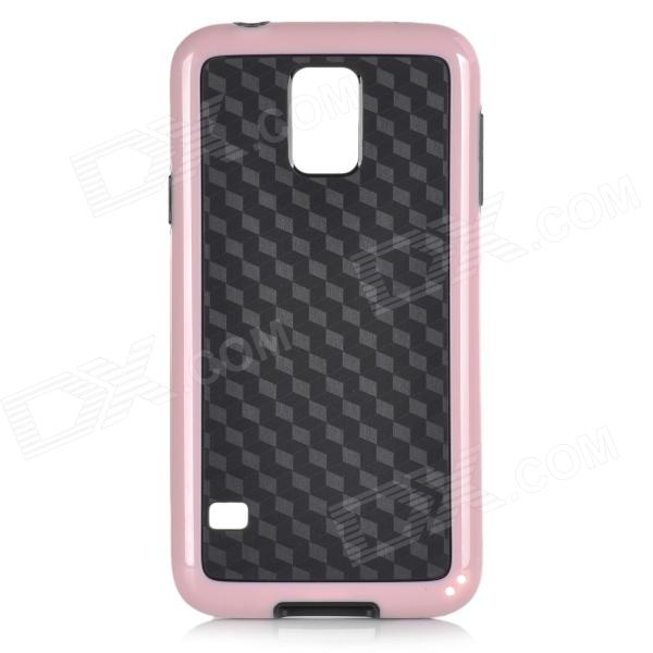 Protective TPU + PC Back Case for Samsung Galaxy 5S - TPU + PC link dream protective tpu pc back case for iphone 5 5s pink dark blue