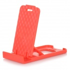 Mini Universal Desktop Mobile Phone Stand Holder - Red