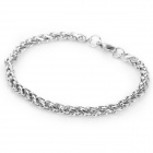 SHIYING BH-101801 316L Stainless Steel Bracelet for Men - Silver