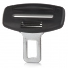 Universal ABS Car Safety Belt Buckle - Black