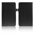 ENKAY Protective PU Leather Case w/ Stand for Samsung Galaxy Tab Pro 8.4 T320 / T321 - Black