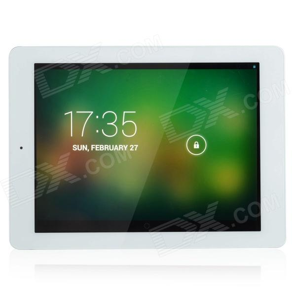 ONDA V975m 9.7 IPS Quad Core Android 4.2 Tablet PC w/ 2GB RAM, 16GB ROM, Wi-Fi - Silver + White vido m8 7 9 ips android 4 2 2 quad core tablet pc w 1gb ram 16gb rom wi fi white silver