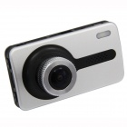 "C2 H.264 2.7"" TFT CMOS Camera Wide Angle Car DVR w/ G-Sensor /1-LED / HDMI - Silver + Black"