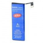 High Capacity 3.7V 2250mAh Replacement Li-ion Battery for IPHONE 5C - Blue