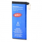 High Quality 3.7V 2250mAh Li-ion Replacement Battery for IPHONE 4 - Blue