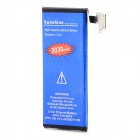 High Capacity 3.7V 2250mAh Li-ion Battery for IPHONE 4S - Blue