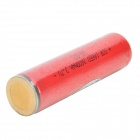 Lson 18650 3.7V 2400mAh rechargeable Li-ion w / protection IC - rouge + blanc
