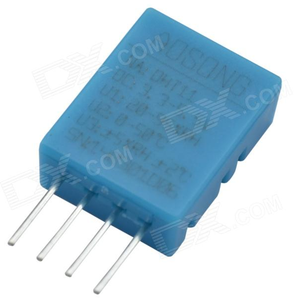 DHT11 Temperature / Relative Humidity Sensor Module for Arduino - Light Blue dht11 temperature relative humidity sensor module for arduino light blue