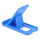 Universal Mini Desktop Fold-up Cellphone Holder - Blue