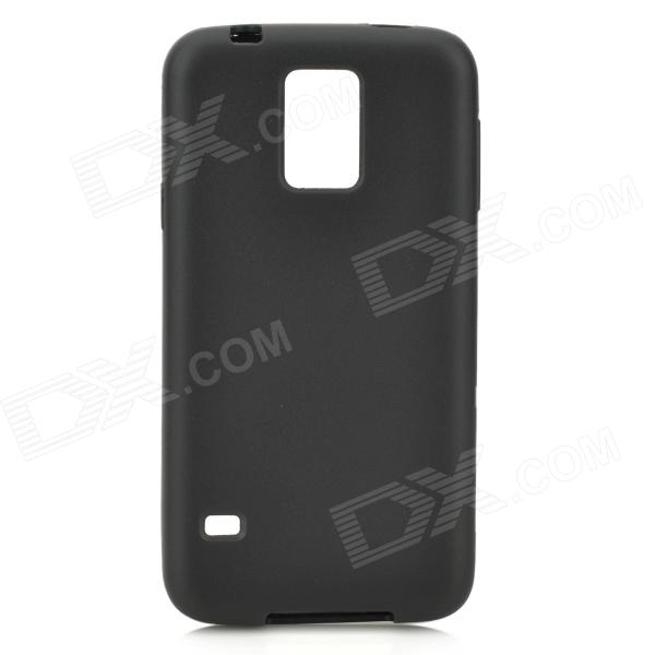 A-S5 Protective TPU Back Case for Samsung Galaxy S5 - Black a s5 protective tpu back case for samsung galaxy s5 deep pink