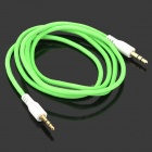 Zi-2 Universal PVC 3.5mm Audio Cable - Green (100cm)