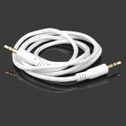Zi-2 Universal PVC 3.5mm Audio Cable - White (100cm)
