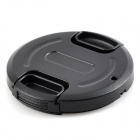 uWinKa ULC-39 Universal Plastic 39mm Lens Cap for Camera - Black