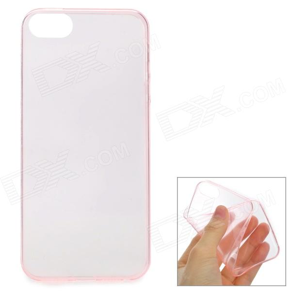 0.1mm Protective Back Case for IPHONE SE / 5 / 5S - Translucent PinkTPU Cases<br>Form  ColorTranslucent PinkBrandN/AModelN/AQuantity1 DX.PCM.Model.AttributeModel.UnitMaterialTPUShade Of ColorPinkCompatible ModelsIPHONE 5S,IPHONE 5,Others,iPhone SEDesignSolid Color,TransparentStyleBack CasesMaterialTPUPacking List1 x Back case<br>