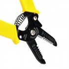 WLXY 5021 Handy Wire Stripping Cutter Pliers Tool - Black + Yellow