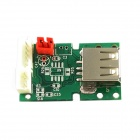 Kinrener M2801001 Mini MP3 Decode Board w/ TF Card - Green