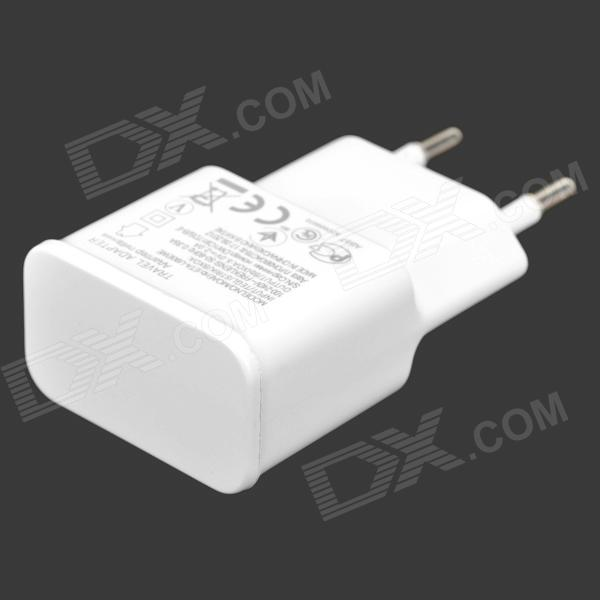 5V 2000mAh EU Plug Power Adapter w/ Micro 5pin Cable for Samsung i9300 + More - White (100~240V) touch screen glass panel ktp057abaa h00