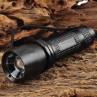 POP T38 LED 500lm 2-Mode White Zooming Flashlight - Black (4 x AAA)