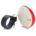 7-mode UFO Style Red Light Warning Tail Lamp for Bicycle - Red + White (2 x AAA)