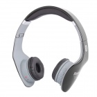 NK-898 Stereo Bluetooth V2.1 Headset Headphones w/ FM / Microphone - Gray + Black
