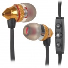 BIDENUO G500 Universal 3.5mm In-Ear Earphone w/ Microphone for IPHONE / HTC / Samsung (120cm)