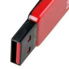Gigastone giratorio USB 2.0 Flash Drive - Negro + Rojo (16GB)