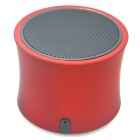 A3 Bluetooth V3.0 Handsfree Speaker w/ Microphone / Mini USB / TF - Red