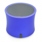 A3 Bluetooth V3.0 Handsfree Speaker w/ Microphone / Mini USB / TF - Blue