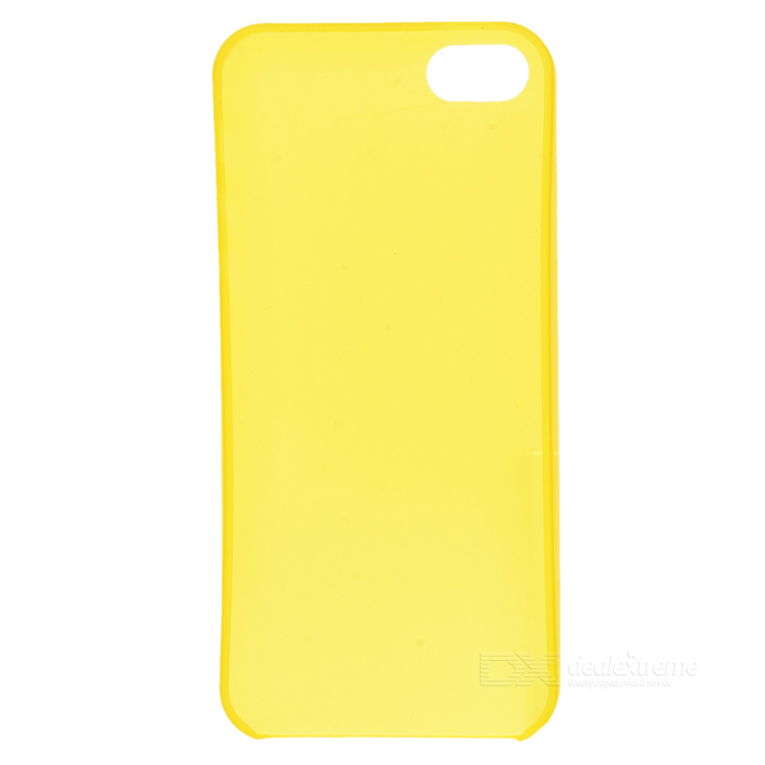 KWEN YY-1 Ultra-Slim Matte Plastic Back Case for IPHONE 5 / 5S - Light Golden