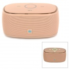 KINGONE K5 Portable Wireless Bluetooth V3.0 Bass 2-CH Speaker w/ TF - Pink