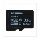 TOSHIBA 32GB microSD SDHC TF Class 10 UHS-I 40MB/s 32G Mobile Memory Card Micro