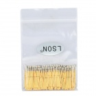 LSON P75-H Gold Plated Brass Stylet Probe - Golden (100 PCS)