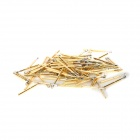 LSON Gold Plated Brass Stylet Probe - Golden (100 PCS)