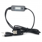 "Portable 0.9"" LCD Car FM Transmitter Hands-Free Kit for IPHONE - Black"