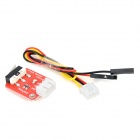 Keyes DIY Crash Sensor Module for Arduino (Works with official Arduino Boards) - Red