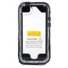SK-109 Protective Waterproof PC + PVC + Silicone Case for IPHONE 5 / 5S / 5C - White + Black