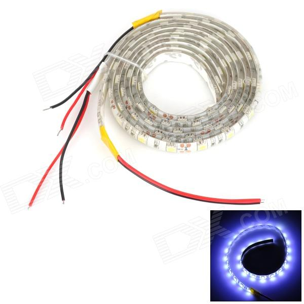 72W 3000lm 6000K 30-SMD 5050 LED White Light Decoration Strip w/ Cable (50cm / DC 12V)