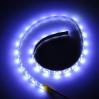 72W 3000lm 30-SMD 5050 LED Bluish White Light Decoration Strip