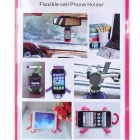 Universal Cat Style Multifunction Silicone Holder for Cell Phone - Red