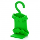 Universal Cat Style Multifunction Silicone Holder for Cell Phone - Green