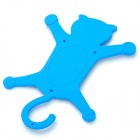 Universal Cat Style Multifunction Silicone Holder for Cell Phone - Blue