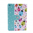 Lofter Ladybird Illustration Protective PU Leather Case Cover Stand for RETINA IPAD MINI - White