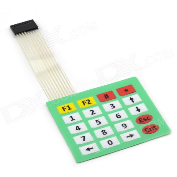 MaiTech 03120256 4 x 5 Matrix Keyboard / Membrane Switch - Green