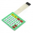 MaiTech 4 x 5 Matrix Keyboard / Membrane Switch - Green