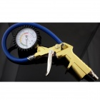 SANDA 16BAR High Precision Tire Pressure Gauge - Golden + Blue