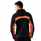 MA24 Exterior Fleece-Quick secado Bike Ciclismo Ropa - Negro (XL)