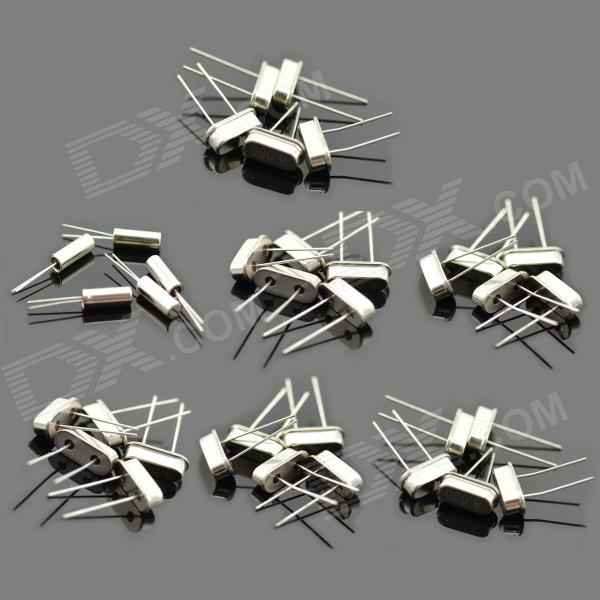 MaiTech Commonly Used Passive Crystal Set - Silver (35PCS)